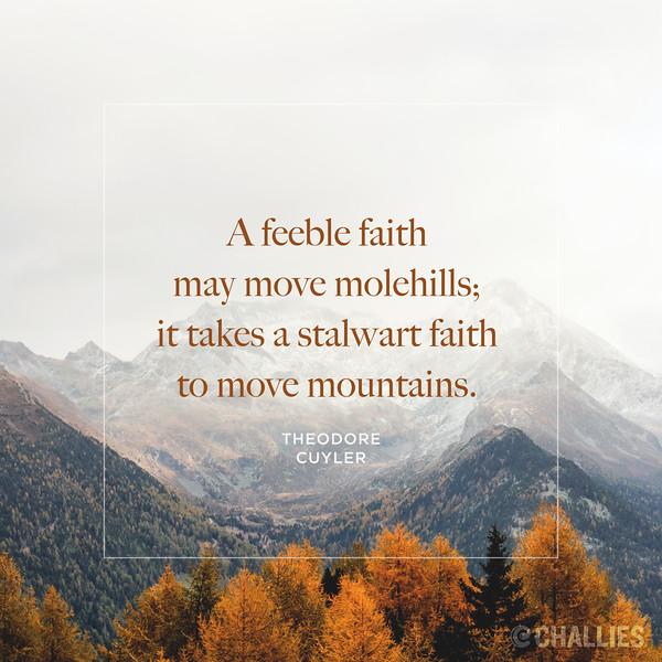 Theodore Cuyler on Faith