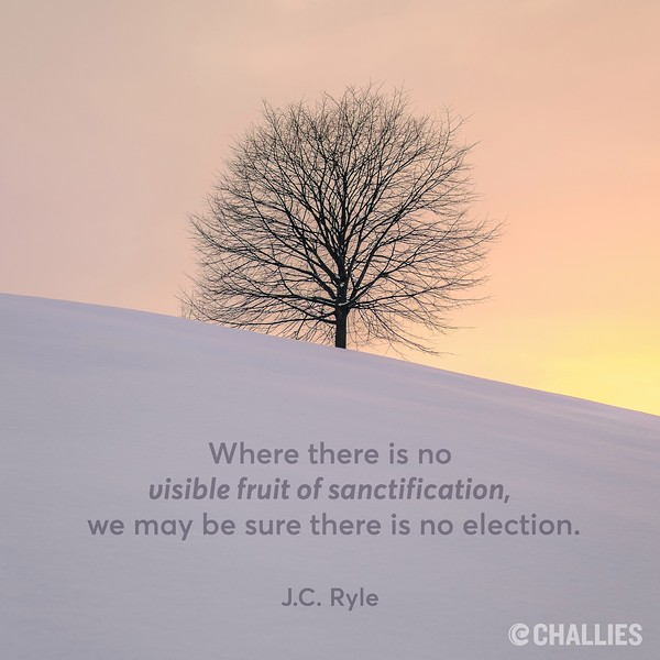 J.C. Ryle on Sanctification