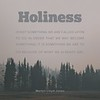 Martyn Lloyd-Jones on Holiness