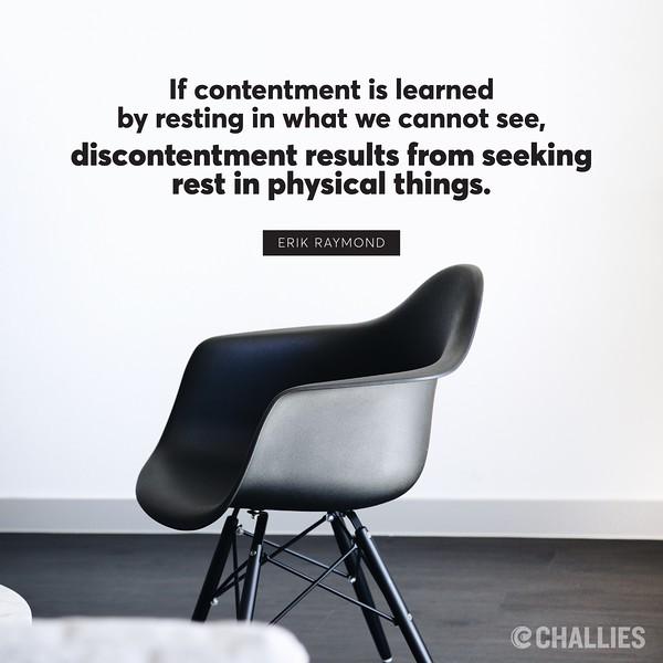 Erik Raymond on Contentment