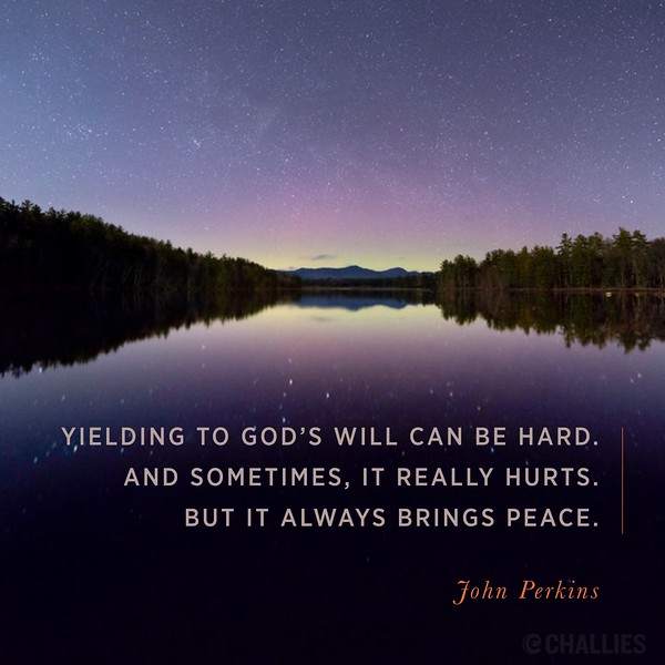 John Perkins on God's Will
