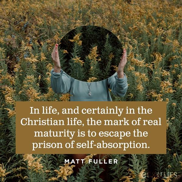 Matt Fuller on Maturity