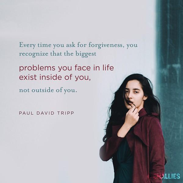 Paul David Tripp on Forgiveness