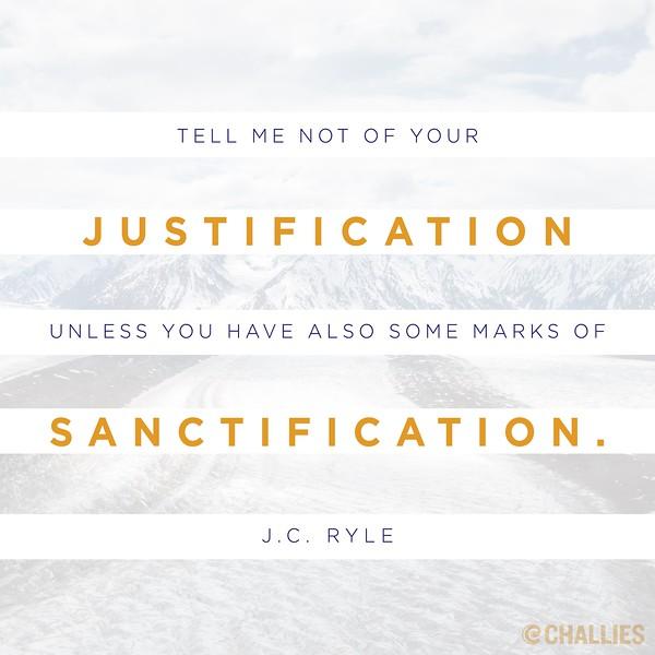J.C. Ryle on Sanctification