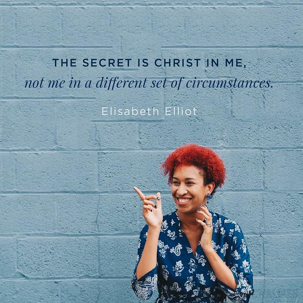 Elisabeth Elliot on Christ