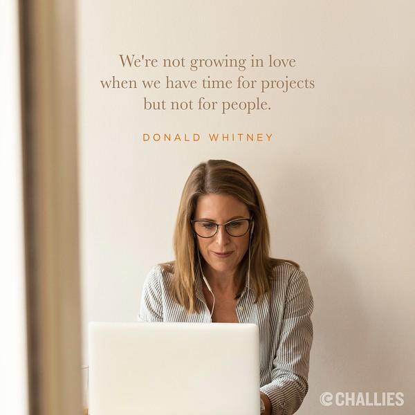 Donald Whitney on Love