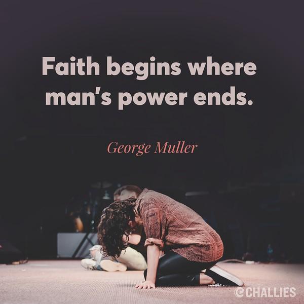 George Muller on Faith