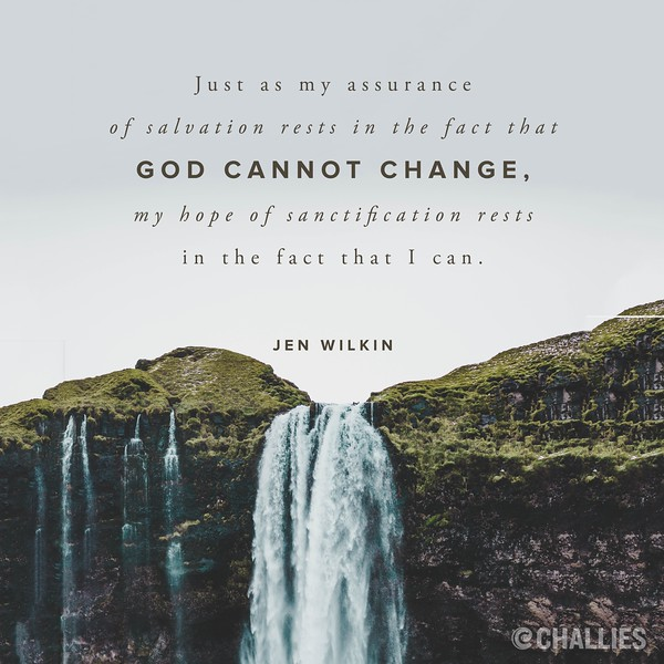 Jen Wilkin on Sanctification