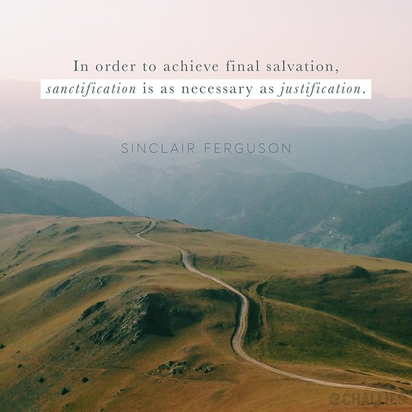 Sinclair Ferguson on Sanctification