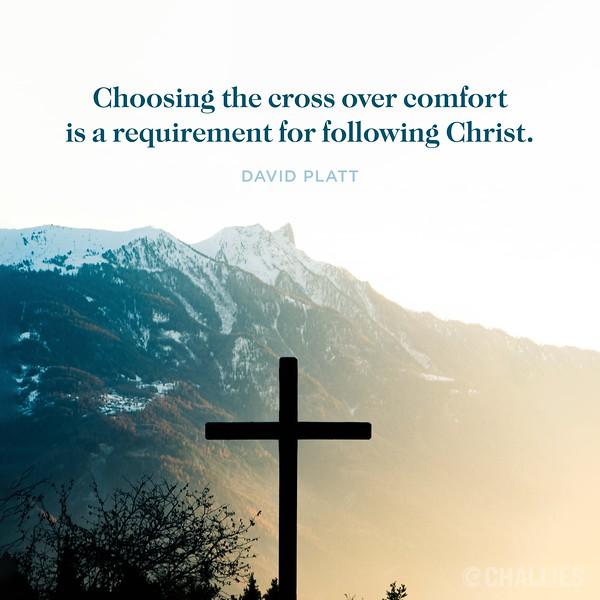 David Platt on the Cross of Christ