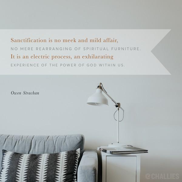 Owen Strachan on Sanctification