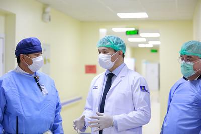 2020 оны арваннэгдүгээр сарын 16. ЭМ-ийн сайд Т.Мөнхсайхан Цэргийн төв эмнэлэгт ажиллаа.ГЭРЭЛ ЗУРГИЙГ Г.ӨНӨБОЛД/МРА