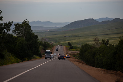 2021 оны наймдугаар сарын 7. Дархан-Улаанбаатар чиглэлийн авто зам. ГЭРЭЛ ЗУРГИЙГ Д.ЭРДЭНЭЦЭЦЭГ/MPA