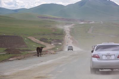 2021 оны долдугаар сарын 13. Дархан-Уул аймаг явах зам.ГЭРЭЛ ЗУРГИЙГ Д.ЗАНДАНБАТ/MPA