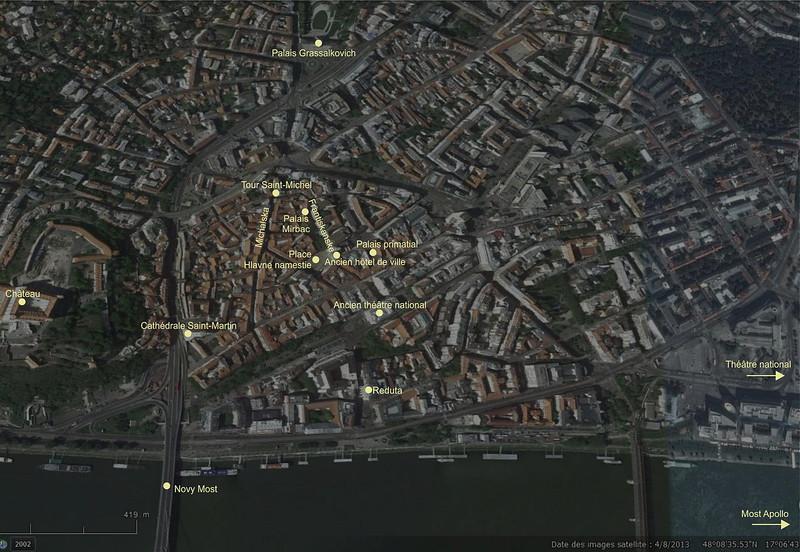 Plan de Bratislava
