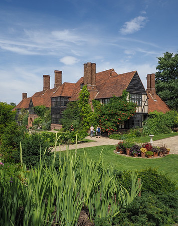 The Wisley centre house and nerve centre.