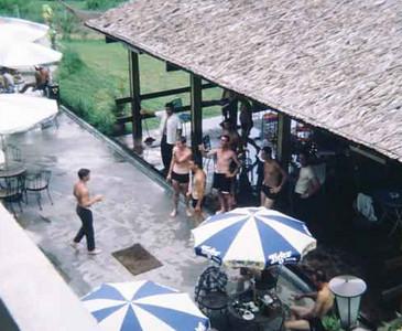 Hotel poolside-Singapore