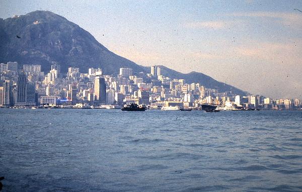 Hong Kong Shorline from Ferry