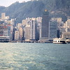 Hong Kong Shorline from Ferry