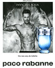 PACO RABANNE Invictus Aqua 2018 Spain (simple page format Icon with bottle-shaped scebt card) 'The new EdT'