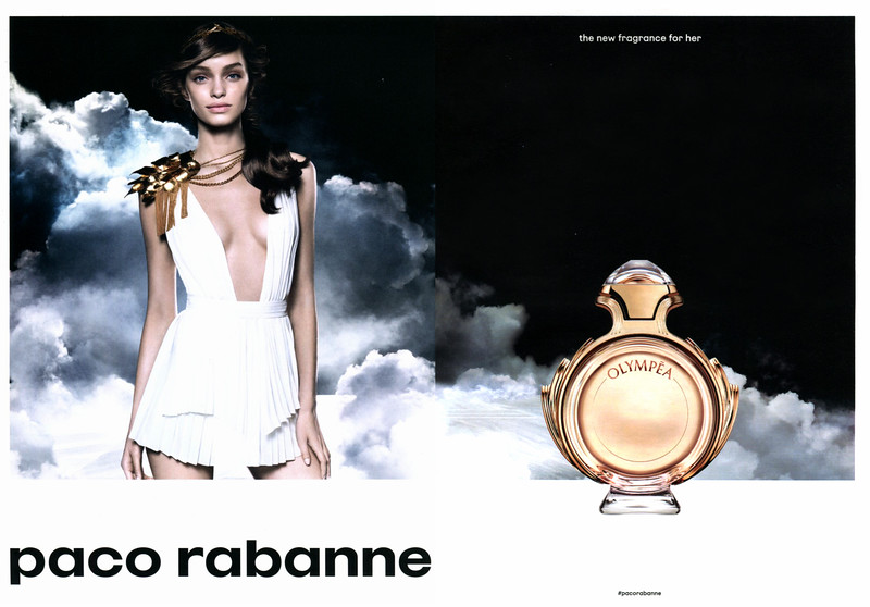 RABANNE Olympéa 2016 Germany spread 'the new fragrance for her'