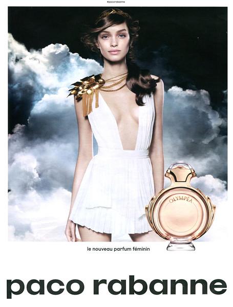 RABANNE Olympéa 2016 France 'Le nouveau parfum férminin'