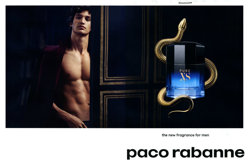 PACO RABANNE Pure XS 2018 Spain spread 'the new fragrance for men'