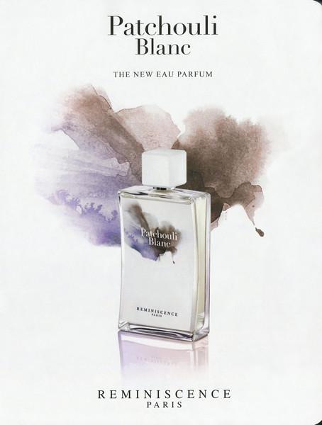 RÉMINESCENCE Patchouli Blanc 2016 Belgium 'The new Eau Parfum'