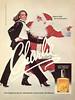 REVLON Charlie 1978 Canada 'Joyeux Noël au monde entier - Une fragrance très originale - Une fragrance jeune, séduisante, provoquante. De Revlon.'