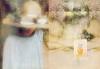 NINA RICCI L'Air du Temps 1982 US spread 'The romantic perfume - Lalique Crystal Flacon'