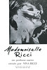 NINA RICCI Mademoiselle Ricci 1967 Spain (format 12,5 x 18,5 cm) 'Un perfume nuevo creado por Nina Ricci'