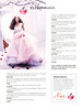 NINA RICCI Nina Eau de Toilette 2008 UK 'Elle Promotion - Modern romance'