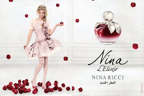NINA RICCI Nina L'Elixir 2011 United Arab Emirates spread