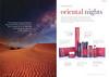 RITUALS Oriental Nights 2016 Spain spread (format 16,5 x 24 cm) 'Presentamos Oriental Nights'