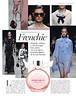 Mademoiselle ROCHAS 2017 Spain (advertorial Vogue) 'En colaboración con Rochas - Frenchic'