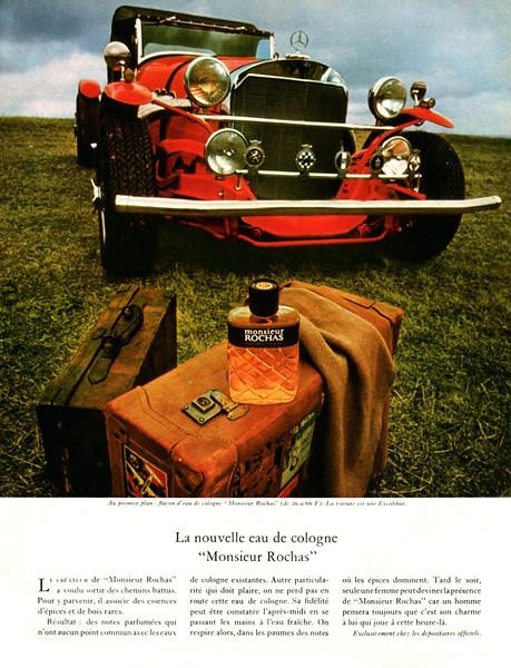 Monsieur ROCHAS 1968 France 'La nouvelle Eau de Cologne'