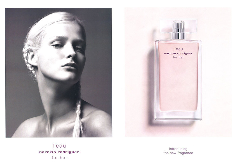 NARCISO RODRIGUEZ for Her L'Eau 2013 Spain spread 'Introducing the new fragrance'