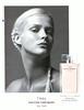 NARCISO RODRIGUEZ for Her L'Eau 2013 France 'Découvrez le nouveau parfum'<br /> <br /> MODEL: Carmen Kass (Estomia), PHOTO: Inez & Vinoodh, STILL LIFE PHOTO: Helmut Stelzenberger