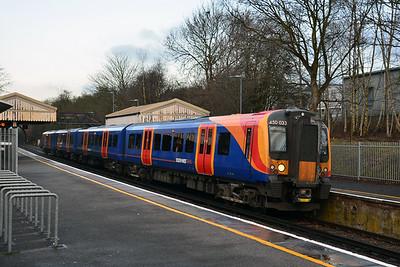 750v DC third rail EMU's