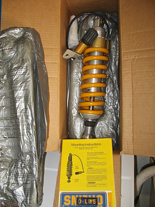 Ohlins in shipping container (sold)