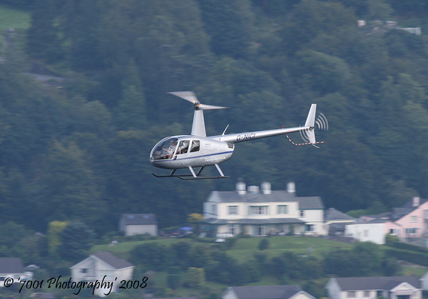 G-NICI R-44 - 26th July 2008.
