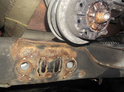 Rust in front chassis
