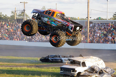 Monster Truck Meltdown @ Seekonk Speedway