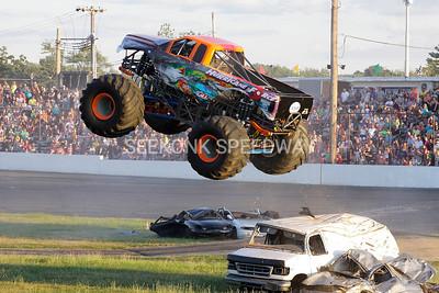 Monster Truck Meltdown @ Seekonk Speedway