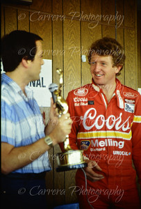Elliott, Bill 1986 NASCAR Riverside - 1