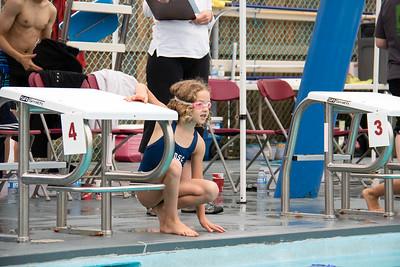 25m freestyle