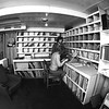 Taken by a professional photographer Spring 1974<br /> <br /> Downstairs lounge...... and record library. Me and Dennis King