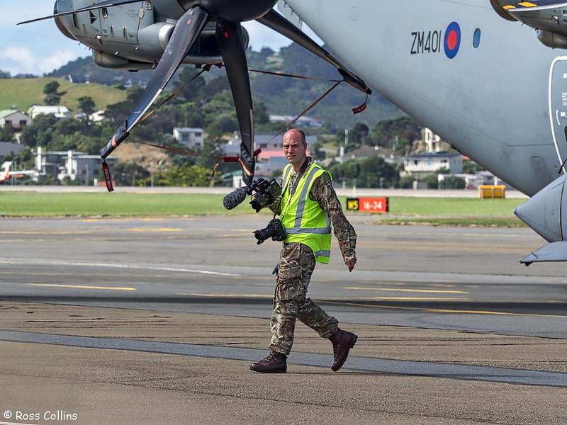 RAF Airbus A400M at Wellington, 23 February 2017