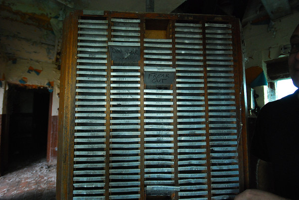 ID cards rack