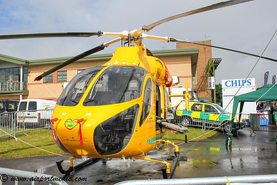 G-LNCT MD900 Lincs & Notts Air Ambulance @ RAF Waddington International Airshow